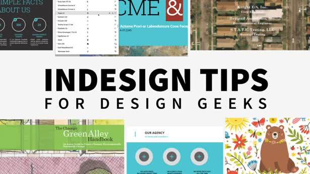 InDesign Tips for Design Geeks