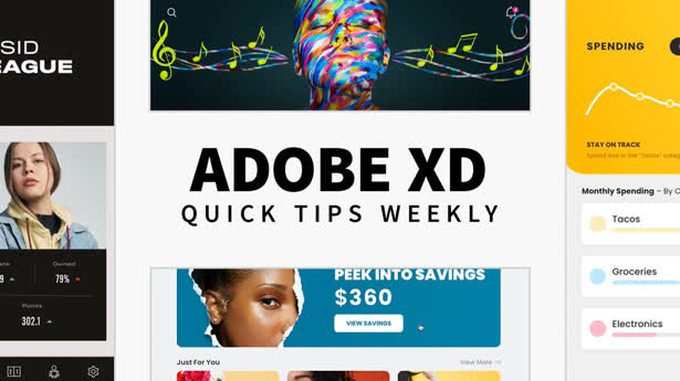 Adobe XD Quick Tips Weekly