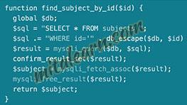 دانلود رایگان فیلم های آموزشی lynda   PHP with MySQL Essential Training: 1 The Basics